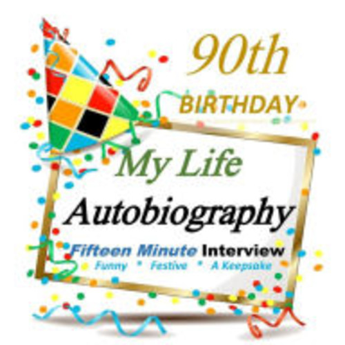 90th Birthday Party Decorations in All Departments: Autobiography Party Gift, 90th Birthday Gifts in all Departments