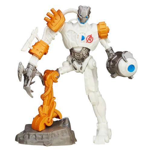 Hasbro - Playmation Marvel Avengers Ultron Bot Villain Smart Figure - White/Gold/Silver