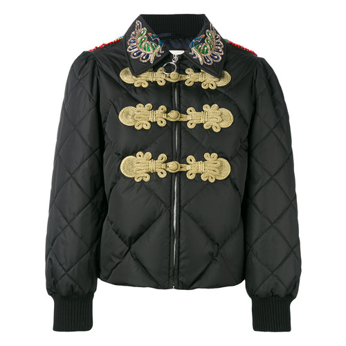 GUCCI Crystal-Embellished Padded Jacket