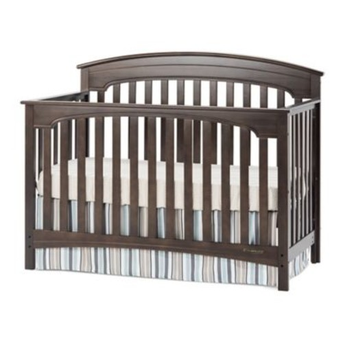 Child Craft Wadsworth 4-in-1 Convertible Crib in Slate