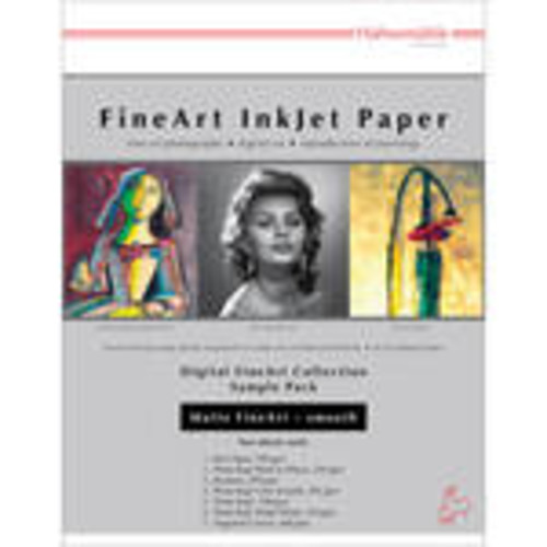 Matte Smooth FineArt Inkjet Paper Sample Pack (8.5 x 11
