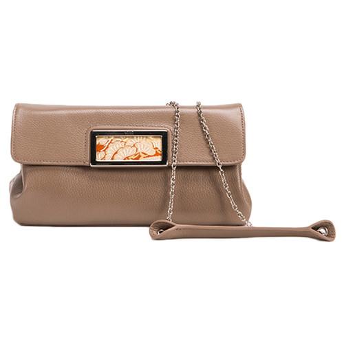 Wa Obi Designer Handbags Wa Obi Ruby Clutch Bag