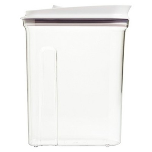 OXO - Dry Food Dispenser - Large - 4.5 QT - White