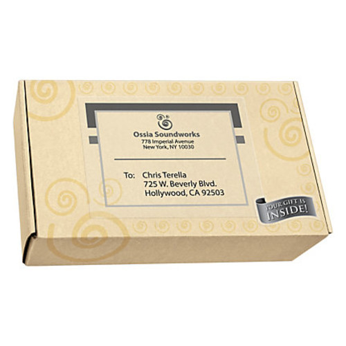 Avery Permanent Shipping Labels, 8 1/2
