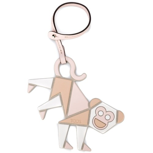 TOD'S Monkey Keyring
