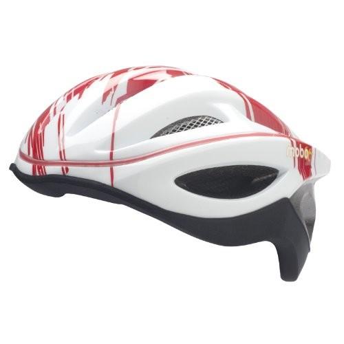 Mobo 360 LED Helmet [Red/White, Small/Medium]