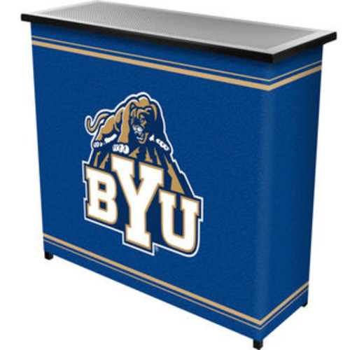 Trademark Global CLC8000-BYU BYUT 2 Shelf Portable Bar with Case