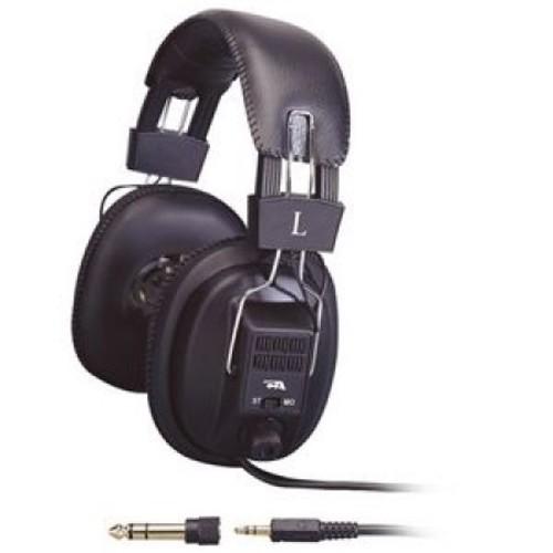 Cyber Acoustics ACM-500R Multi User Stereo Headphones [Standard Packaging]
