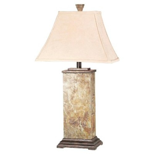 Kenroy Home Bennington Table Lamp - Natural Slate