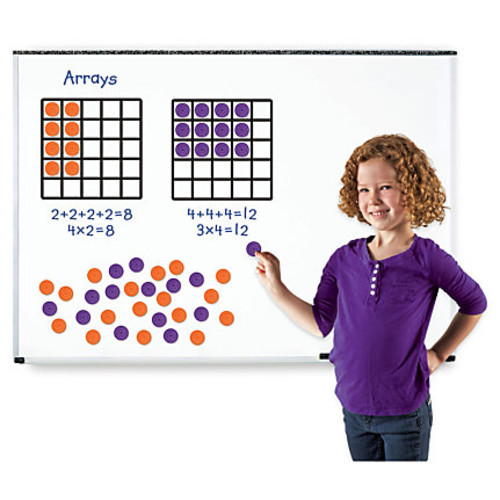 Learning Resources Giant Magnetic Array Set - Theme/Subject: Learning - Skill Learning: Multiplication, Addition, Number - 52 Pieces - 7+
