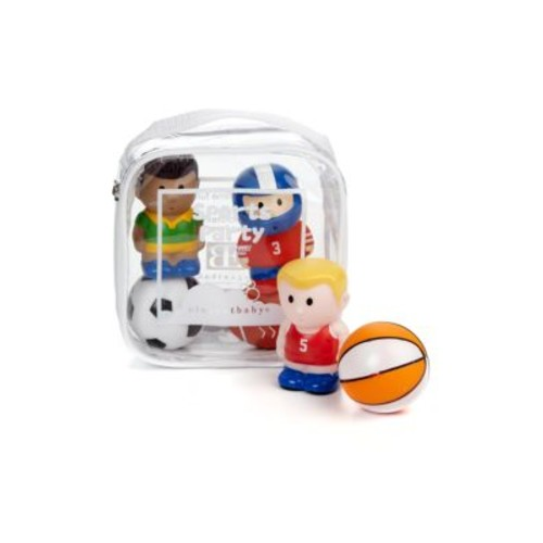 Six-Piece Sports Party Squirties Bath Toys