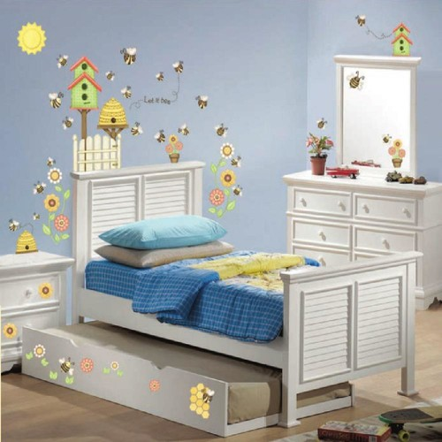 Let It Bee Happy Super Jumbo Wall Decal