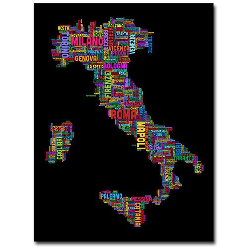 Trademark Global Michael Tompsett 'Italy VI' Canvas Art [Overall Dimensions : 35x47]
