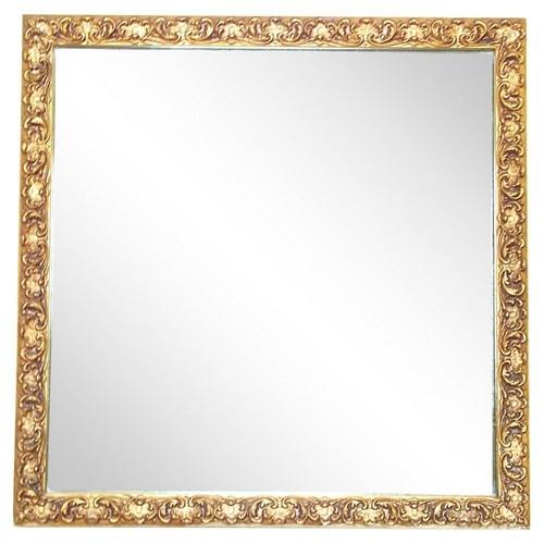 Acanthus Leaf Giltwood Mirror