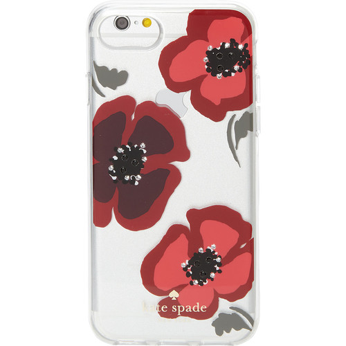 kate spade new york Jeweled Poppy Clear iPhone 7 Case
