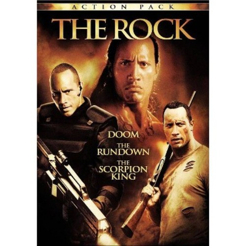 Rock action pack (DVD)