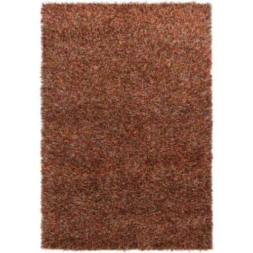 Chandra Astrid Red/Orange/Brown/Grey/Black 5 ft. x 7 ft. 6 in. Indoor Area Rug