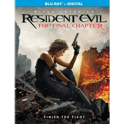 Resident Evil: The Final Chapter (Blu-ray / Digital)