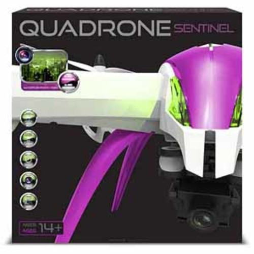 Quadrone Sentinel Camera Drone with 360 Flips and Rolls