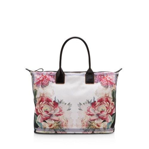 TED BAKER Nessie Painted Posie Large Tote