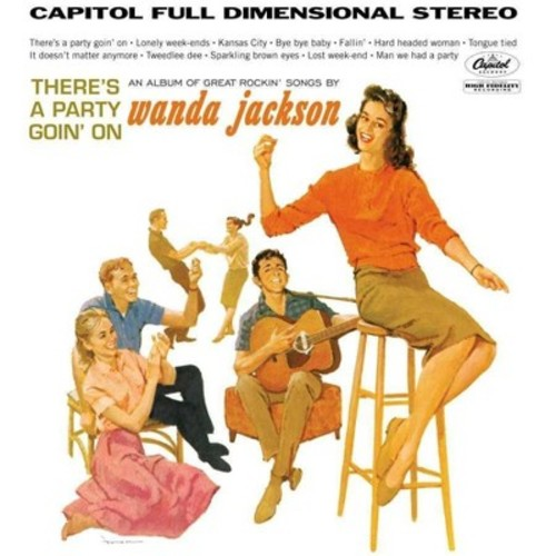 Wanda Jackson - There's A Party Goin On (Vinyl)