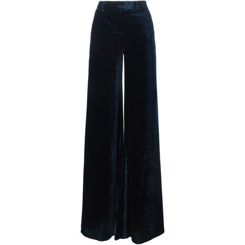 EMILIO PUCCI Velvet Wide Leg Trousers