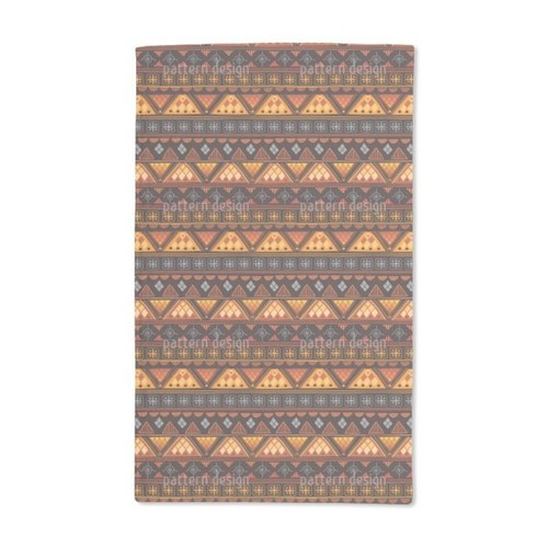 Tribal Signs Hand Towel (Set of 2)