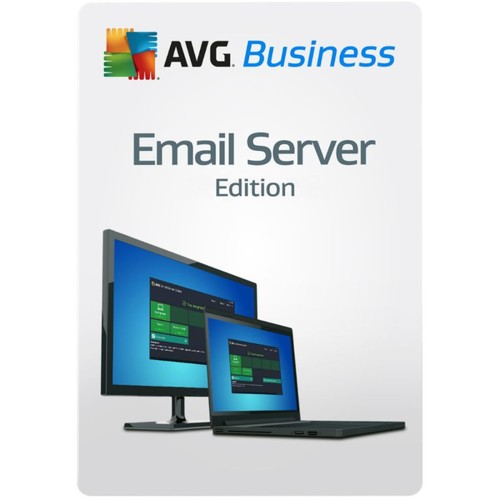 AVG Email Server Business Edition 1 Year 100 Seat, Download Version