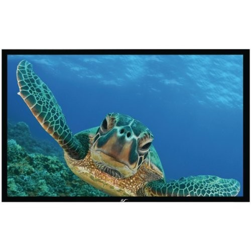 Elite Screens Sable Frame, 100-inch 16:9, Fixed Frame Home Theater Projection Projector Screen, ER100WH1