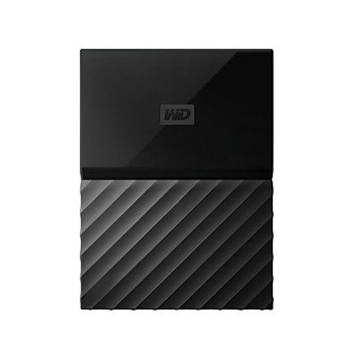 WD My Passport 3TB Portable External Hard Drive, Black
