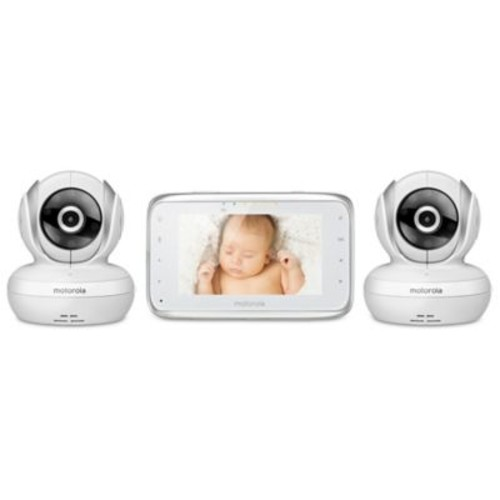 Motorola MBP38S-2 Digital Video Baby Monitor with 2 Cameras