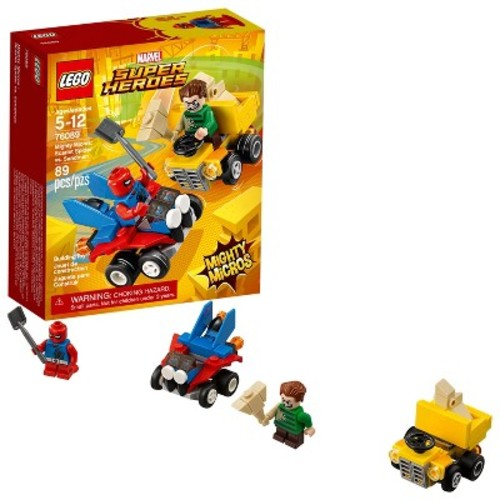 LEGO Super Heroes Marvel Mighty Micros: Scarlet Spider vs. Sandma 76089