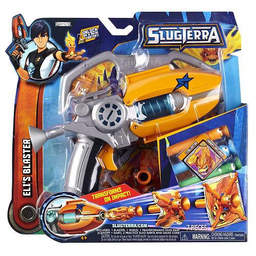 Slugterra Entry Blaster and Slug Ammo - Eli's Blaster
