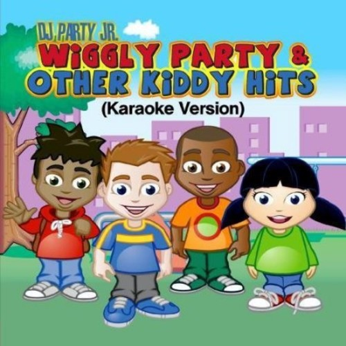 DJ Party Jr.: Wiggly Party & Other Kiddy Hits [CD]