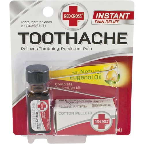 Red Cross Toothache Medication, 1 Count