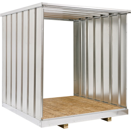 West Galvanized Steel Storage Container Extension Kit  7Ft.,