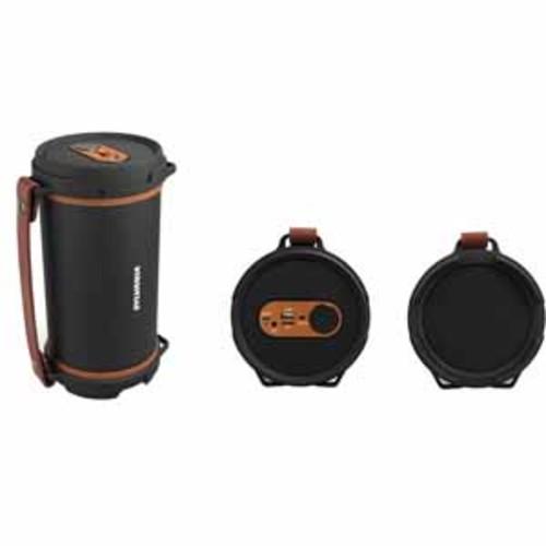 Sylvania Hi-Fi Bluetooth Rugged Tube Speaker - Brown