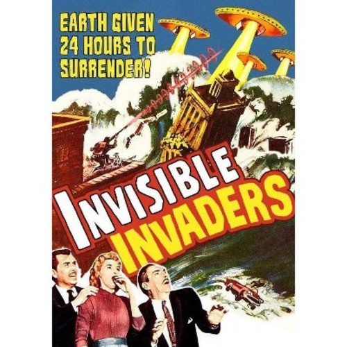 Invisible Invaders [DVD] [1959]