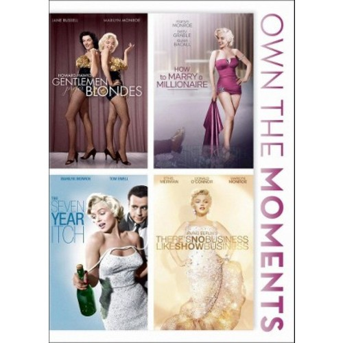 Gentlemen Prefer Blondes/How to Marry a Millionaire/The Seven Year Itch/There's No Business