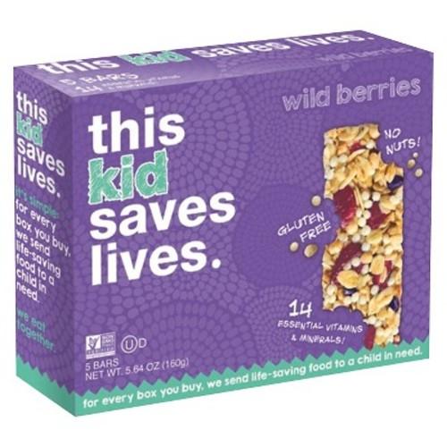 This Bar Saves Lives Mixed Berry Granola Bars - 5ct