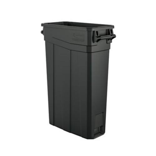 Suncast Commercial Slim Trash Can w/ Handles, 23 Gal (TCNH2030)