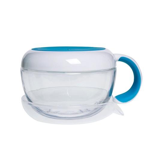 OXO Tot Flippy Snack Cup with Travel Lid - Aqua [Aqua]