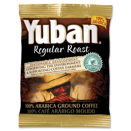 Yuban 100% Arabica Ground Coffee, Carton Of 42 Bags