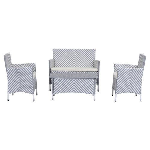 Ceuta 4-Pc Outdoor Set, Gray