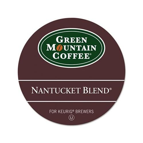 Green Mountain Coffee Pods Nantucket Blend Pods Coffee K-Cup Pods, Box Of 18