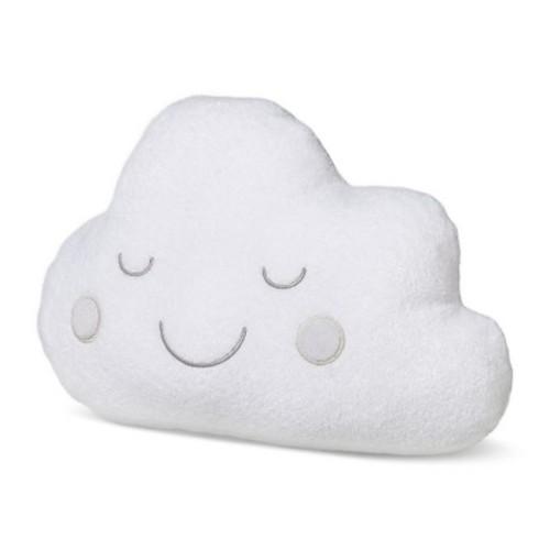 Plush Throw Pillow Cloud - Cloud Island - White
