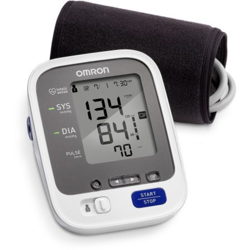 Omron 7 Series Wireless Upper Arm Blood Pressure Monitor with Cuff that fits Standard and Large Arms (BP761) with Bluetooth Smart Connectivity