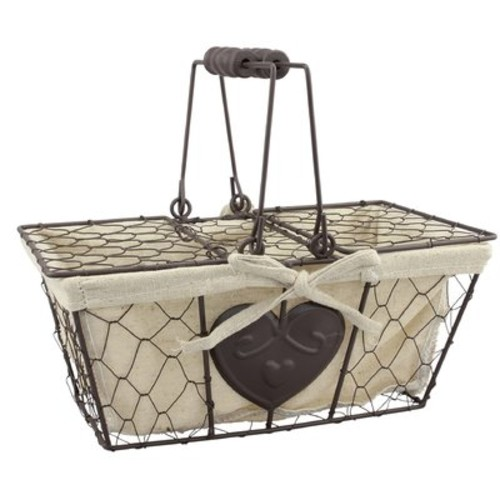 Stonebriar Metal Basket