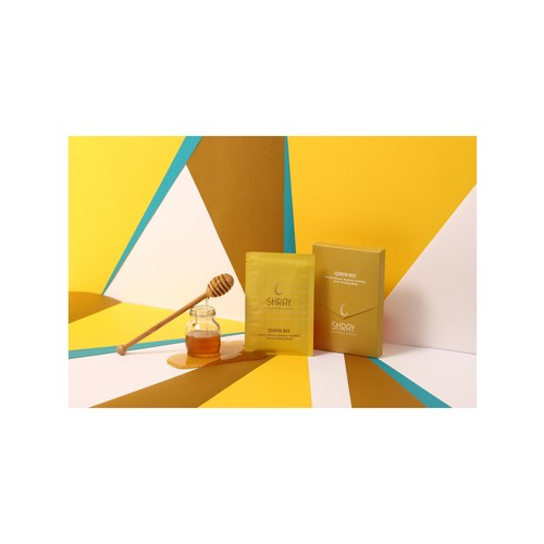 Queen Bee Blemish Fighting Mask with Honey - (5-piece Box Set)