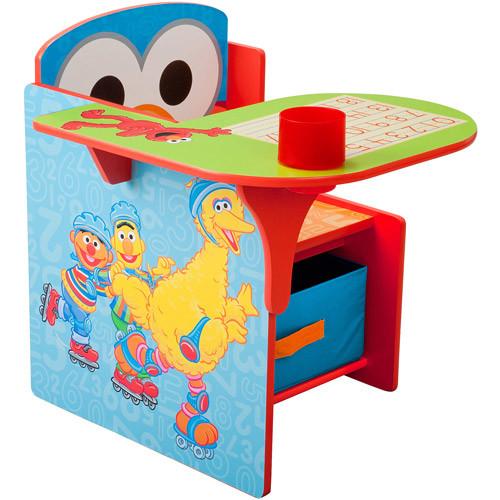 Delta Children Chair Desk With Storage Bin, Sesame Street [Sesame Street]